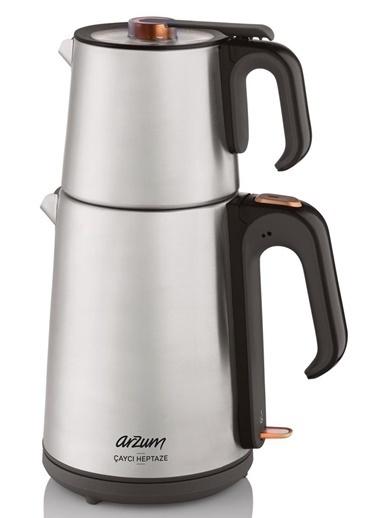 Arzum AR3023 Çaycı Heptaze Çay Makinesi Gri
